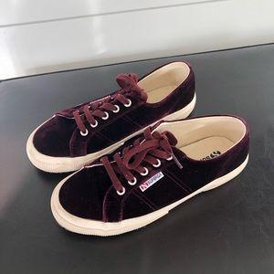 Velvet Superga sneakers